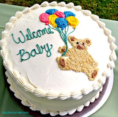 baby shower cake, baby shower, little boy cake, teddybear cake