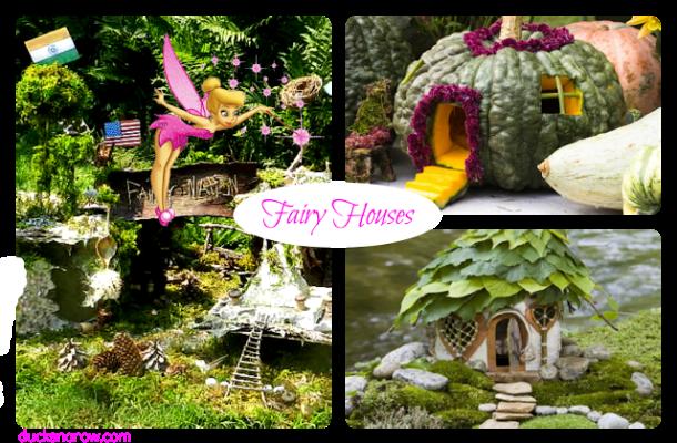 fairy houses, bird houses, fairy gardens, fairies