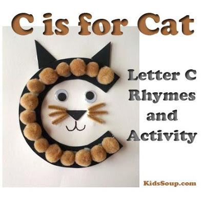 Letter C is for Cat Preschool Craft