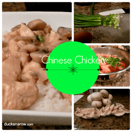 Easy recipe for Chinese chicken with mushrooms #food