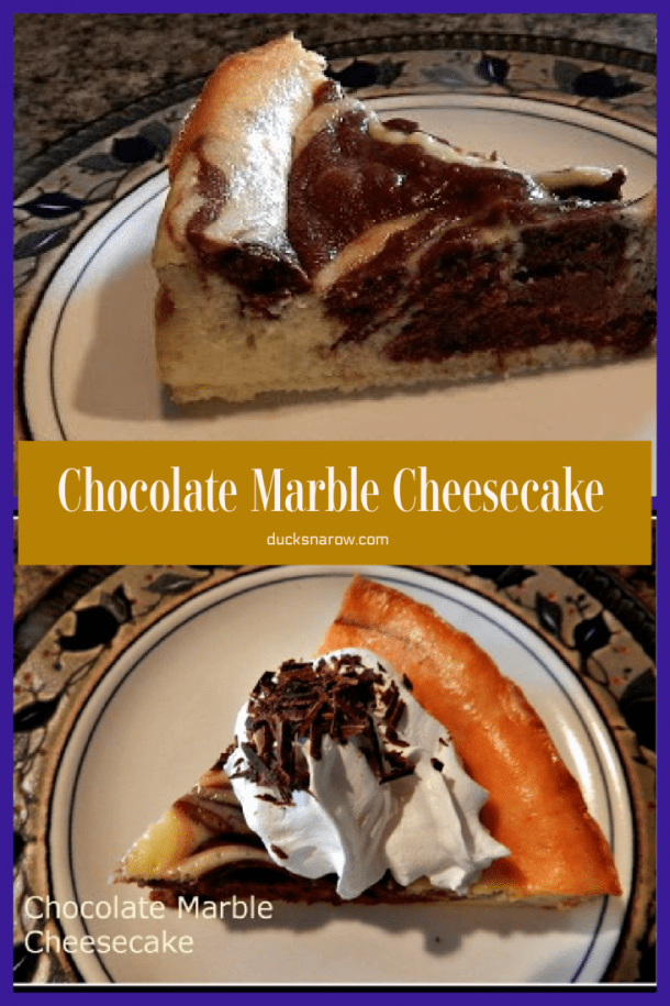 Chocolate Marble Cheesecake Recipe