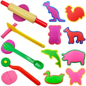 Play dough tools for kids #Ad