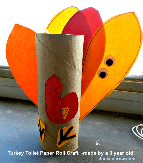 kids crafts, turkey craft, toilet paper roll craft, preschool