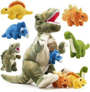 Plush dinosaur toys for kids