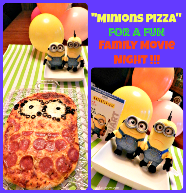 pizza recipe for a Minions Pizza