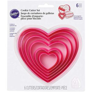 Nesting cookie cutters heart-shaped #Valentines #affiliate