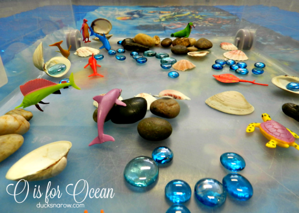 O is for Ocean activity for #kids #preschool