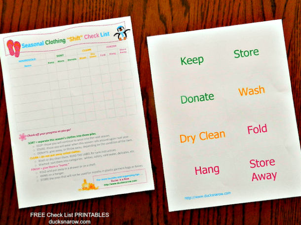 free printable checklist, organizing, laundry, wash day, decluttering, homemaking