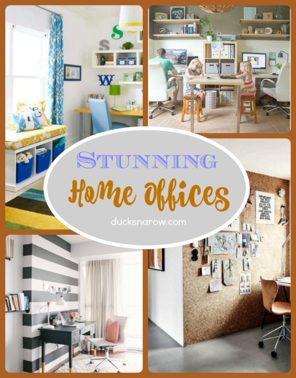 20 Stunning In-Home Offices you will love! #decor