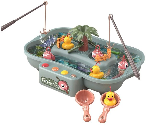Go fishing toy using real water #ad