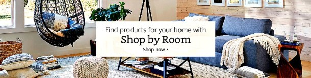 Shop Amazon room by room #affiliate