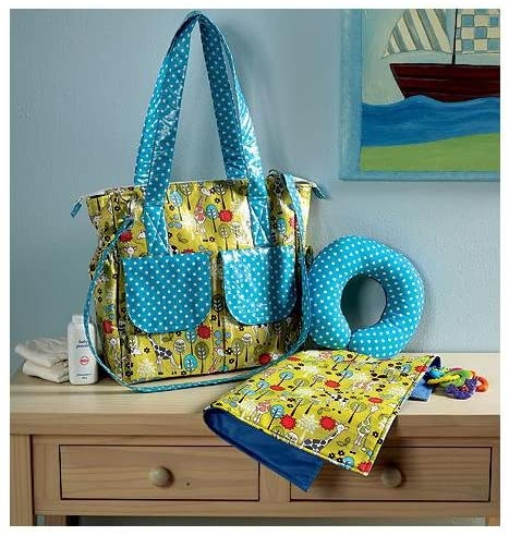 Pattern for making tote, baby changing pad and more #ad