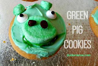 pig cookies, Angry Birds movie