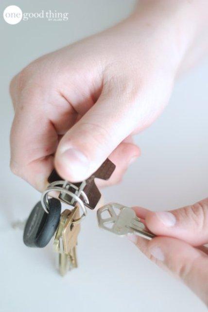 life hacks, key ring
