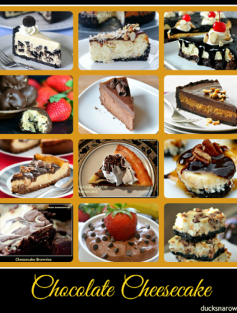 12 delicious chocolate cheesecake recipes