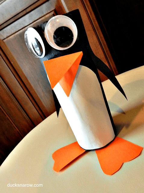 kids crafts, family fun, penguins, preschool, kindergarten crafts