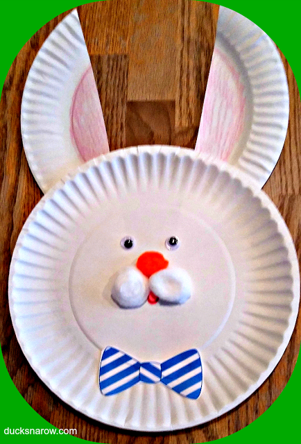 Easter, holiday crafts, preschool crafts, bunny craft, Easter bunny