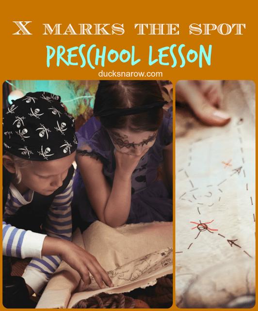 prek, kids activities, Letter X theme, pirates, princesses