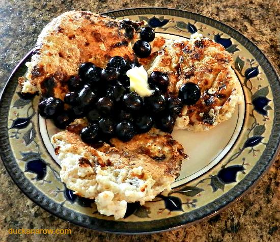 Trim Healthy Mama oatmeal pancakes E meal, hotcakes