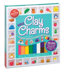 Make clay charms #kids #ad