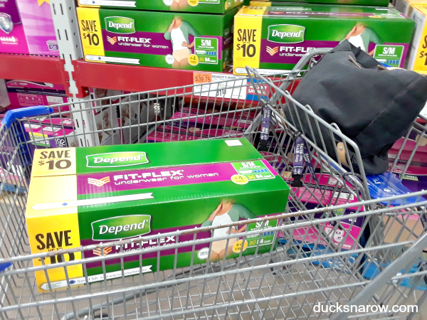 Buy Depend Fit Flex underwear and other caregiving supplies at Sam's Club #ad