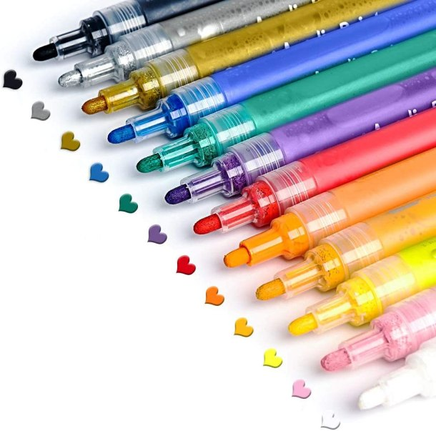 Acrylic paint pens for rocks and other materials #ad