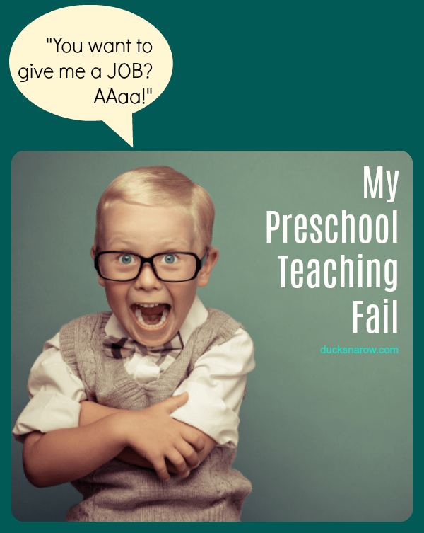 My preschool teaching fail and what I did to make it all better! #kids