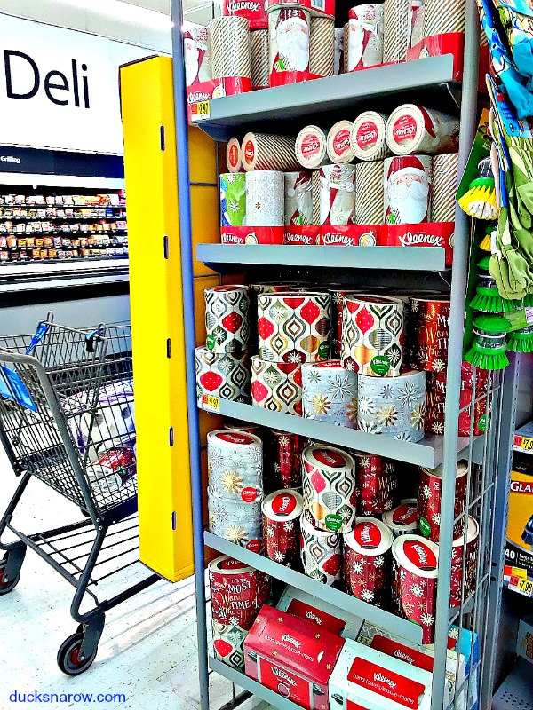 Holiday decor Kleenex products for the home or office