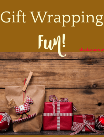 Make wrapping the gifts an event in itself