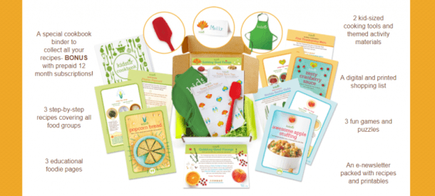 Kidstir Cooking Kits for Kids and the whole family
