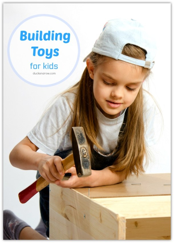 Building toys for girls and boys #ad #buildingtoys