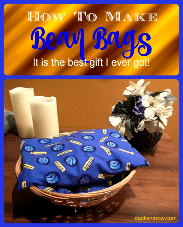 DIY bean bags make great gifts #crafts #gifts