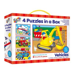 Vehicles puzzles for preschoolers #ad