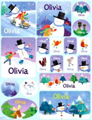 Personalized stickers for kids #ad