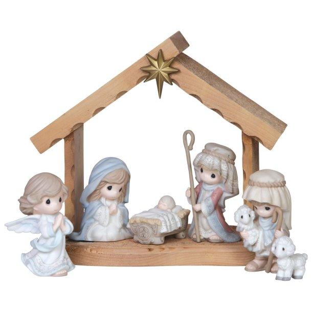 Precious Moments nativity scene set for #Christmas #Nativity