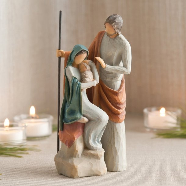 Lovely Willow Tree figurines of the Holy Family for #Christmas
