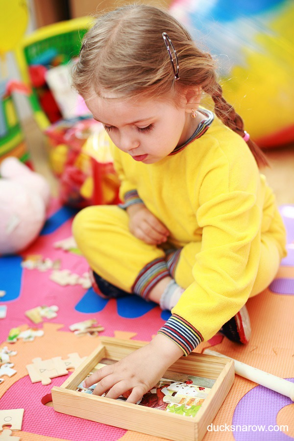 Preschoolers love doing puzzles - here are some tips on the kinds they will like the best!