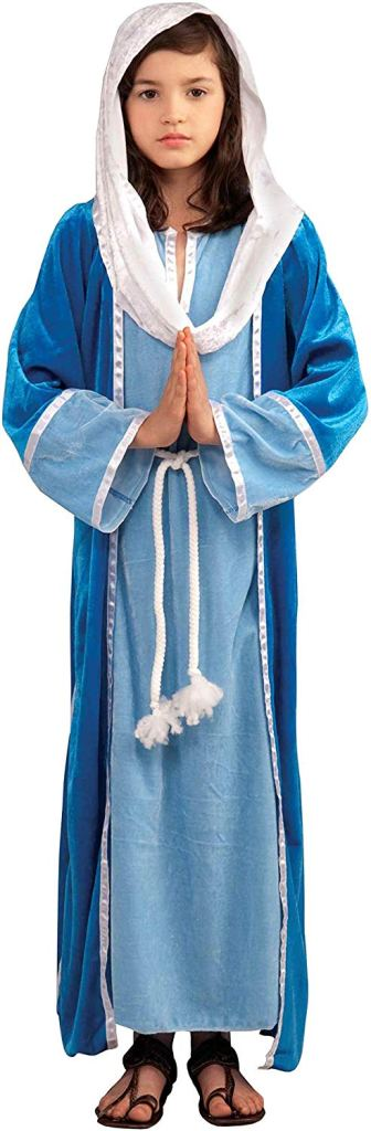 Mary costume for Christmas plays or living nativity scenes #Christmas #AD