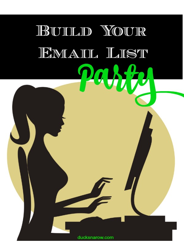 Join the linkup for the month of January 2018 where we will join each other's email lists! #bloggingtips