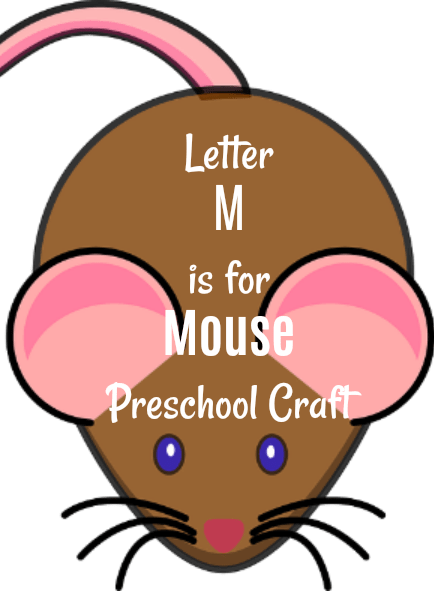 letter m is for mouse preschool craft and lesson