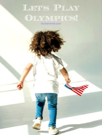 Let's play Olympics! #preschool