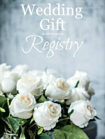 how to pick gifts for your wedding registry