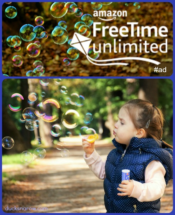 1 month free trial subscription to Amazon FreeTime Unlimited for #kids #ad