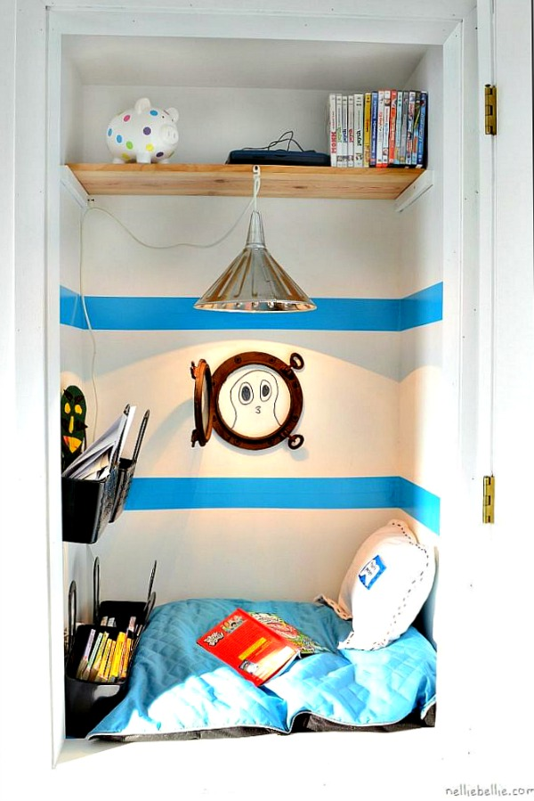 Create A Cozy Reading Nook For Kids To Go Read Books