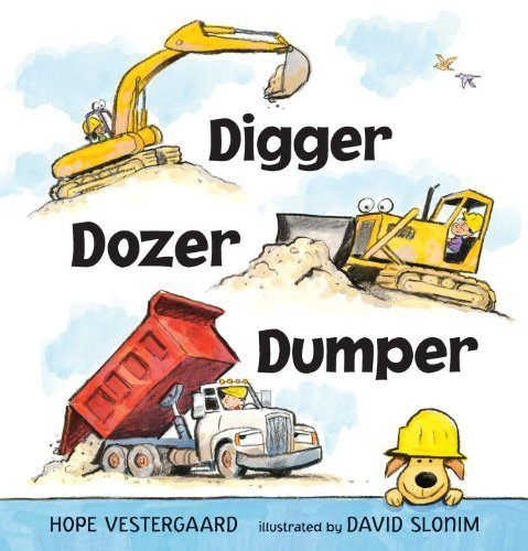 Digger Dozer Dumper book for kids #ad