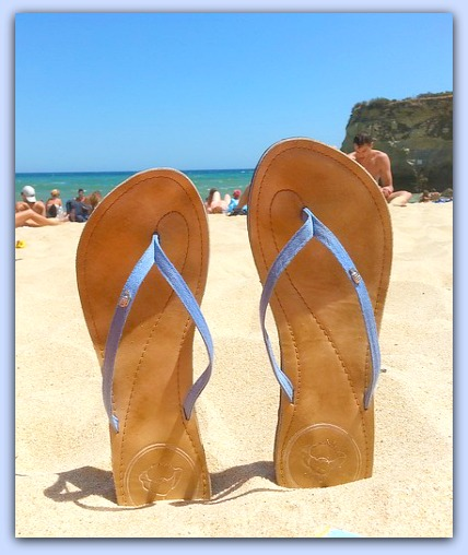 Flip Flops are a sure sign of SUMMER! #ad