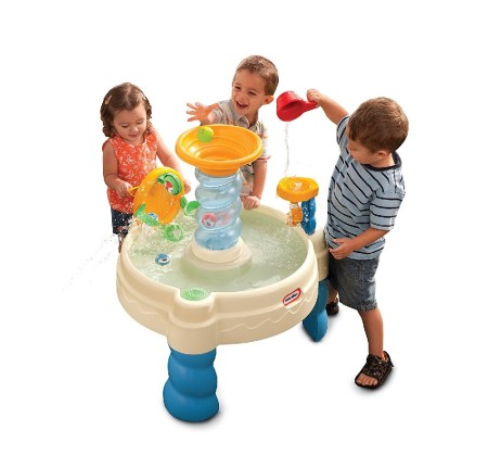 Spiralin' seas waterpark play table for #kids #ad