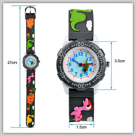 3D dinosaur watches for kids #affiliate