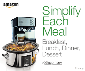 Simplify each meal and enjoy it!