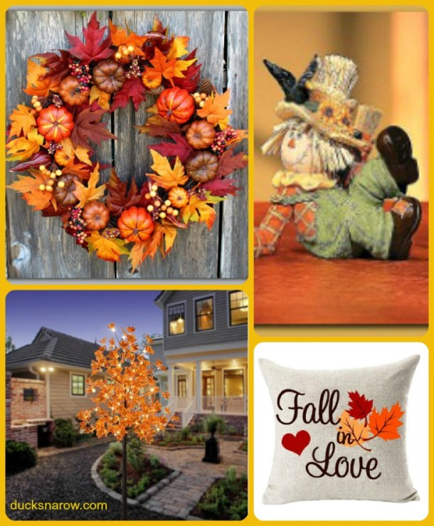 Decorate your home with pretty fall accent pieces #homedecor
